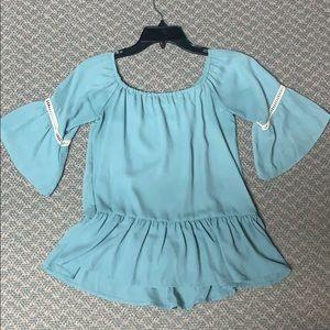 Liberty Love Sky blue blouse